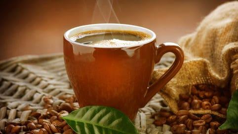 черен дроб кафе
